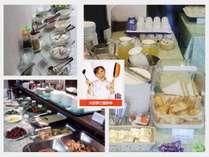 和洋30種類以上の朝食バイキング♪ ヘルシー派もガッツリ派も お好み量でお召し上がりあれ!