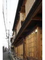 京都ならではの町屋格子