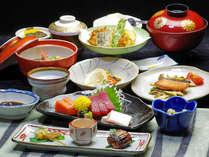 *【夕食一例】お夕食はお部屋食『いかるが夢めぐり御膳』をご用意致します。