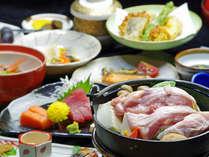 *【夕食一例】その時期一番美味しい食材を使用する『いかるが夢めぐり御膳』