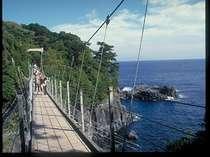 城ヶ崎海岸釣り橋