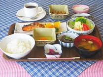 *【和朝食全体例】地元群馬県の食材を大切にした朝食です。(和洋お選びいただけます。)