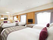 ビジネスクラストリプル&フォースルーム68平米(ベッドルーム)