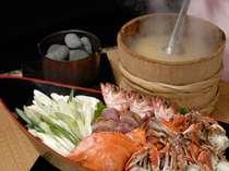 ¥2,484円(税込、当日注文可、数量限定)、シ゛ュ、シ゛ュ、シ゛ューッと男鹿半島名物「石焼料理」♪