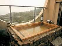 別館特別室【メゾネット】の露天風呂