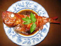 ◆2食付プラン◆夕食は金目鯛一匹煮付★休日前日ドリンク1本付(一部部屋除く)★2名様以上で勝浦地酒付