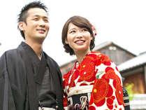 着物で散策!おふたりの京都旅行を想い出に♪<素泊まり>