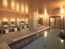 ≪女性大浴場≫広々とした開放感あふれる大浴場で心と体をリフレッシュして頂けます