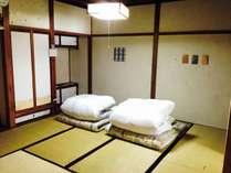 和紙と珪藻土が気持ちいい和室