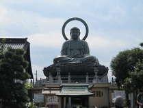 【高岡大仏】■日本三大大仏の一つ■徒歩10分■富山県高岡市の大佛寺にある銅造阿弥陀如来坐像