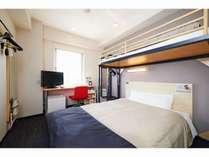 【スーパールーム】ロフトベッドは高品質の低反発ベッドを採用