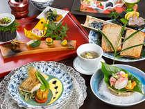 ■深山-miyama-夕食付きプラン<季節の会席料理プラン(7品) ~あぜ~>