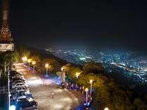 当ホテルから車で5分、稲佐山展望台からの長崎夜景
