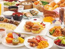 ◇洋食メニューをはじめ、和食メニューも揃えた「和洋ビュッフェ朝食」(イメージ)