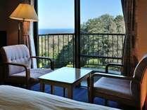 【スタンダード】緑と海の見える部屋 2食付き