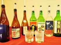 【6・7月平日限定】梅雨にこそ!島焼酎飲み放題プラン(月曜日はさらにお得!!)
