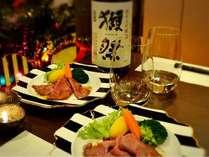 【限定1日5組・12月23日~25日】クリスマスディナープラン★2食付きプラン♪