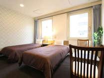 ツインルーム!ベッド幅100×195cmです!