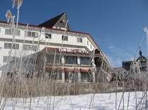 【冬】ホテル外観