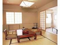 和室の一例です。ゆっくりとした一時をお過ごし下さい。