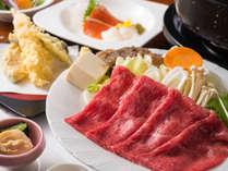 【恵比寿御膳(大人)】のメインは飛騨牛料理です!(お子様は飛騨牛はつきません)