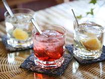 【女将手作りのお酢】水割り、お湯割り、ソーダ割り、お好みで飲んでいただけます。