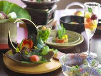 【料理評価4.7】旬の食材を味だけでなく、目でも楽しむ会席料理※お料理イメージ