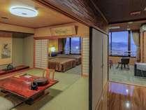 【最上階 特別和洋室】ひと部屋限定