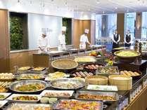 ◆夕食バイキング 和洋中40種類のお料理が食べ放題!!*イメージ
