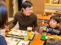 ◆夕食バイキングはソフトドリンクも飲み放題!お酒の飲み放題もあります♪(有料・当日受付)