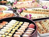 ◆お寿司・揚げたて天ぷらもあります★ *夕食バイキングイメージ