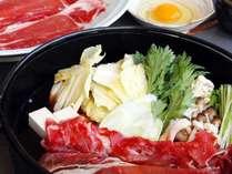 ◆すき焼き食べ放題 いっぱい遊んだあとはたくさん食べて♪