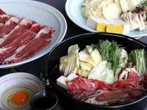 ◆すき焼き食べ放題 豚肉・牛肉が80分間食べ放題! *イメージ