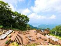 ◆標高1100mの野尻湖テラス *リフトは期間限定営業につき事前にお問い合わせください。