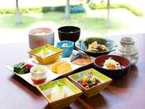 ◆朝食バイキングは和洋20種のメニューが並びます。*和食のイメージ