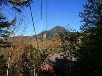 すっきりと晴れわる・・・蓼科山とリトルフット