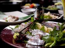 【関アジ】別府ならではの食材の鮮度をお楽しみください