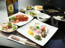 【夕食】種子島の幸を生かした料理でおもてなしいたします☆彡料理の目玉はインギー地鶏の鶏飯です☆