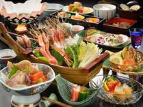 ≪海鮮しゃぶしゃぶ≫暖流と寒流の潮目がある日本海で育った豊富な海の幸