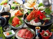 【和会席一例】海老・蟹・和牛を盛り込んだ特別会席!