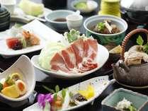【和会席一例】鹿児島の『黒』の名の付く食材を使用した会席。※写真はイメージです※