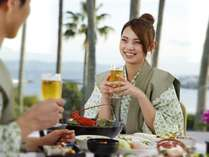 【ダイニングフェニックス】食事をしながら飲むお酒はまた格別♪