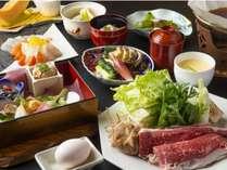 会席一例/鹿児島の食を堪能いただけます!