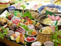 熊野牛サーロインと特選海の幸の饗宴♪料理長お薦め料理ぷらん「紀州路会席」