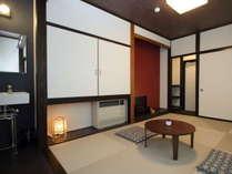 琉球畳洗面台付き上和室 6帖