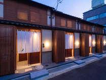 それぞれ異なる金沢の伝統工芸をテーマにした4連棟町家「かがび」のうちの1棟。
