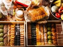【朝食ブッフェ】パティシエが手掛けるホテルクオリティーの見て楽しい可愛いデザートの数々