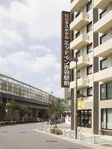 赤羽駅前に立つ、2007年新築OPENのホテル