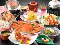 ◆早割30◆1000円OFF♪【かにお楽しみご膳】ゆで蟹(500g)1杯付!焼き蟹・かに鍋などの食べ方で♪