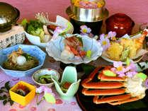 """【福井名物!""""水蟹""""】ここだけの味わい☆地元ファン多し!やわらかジューシーな蟹身を楽しむ水蟹プラン♪"""